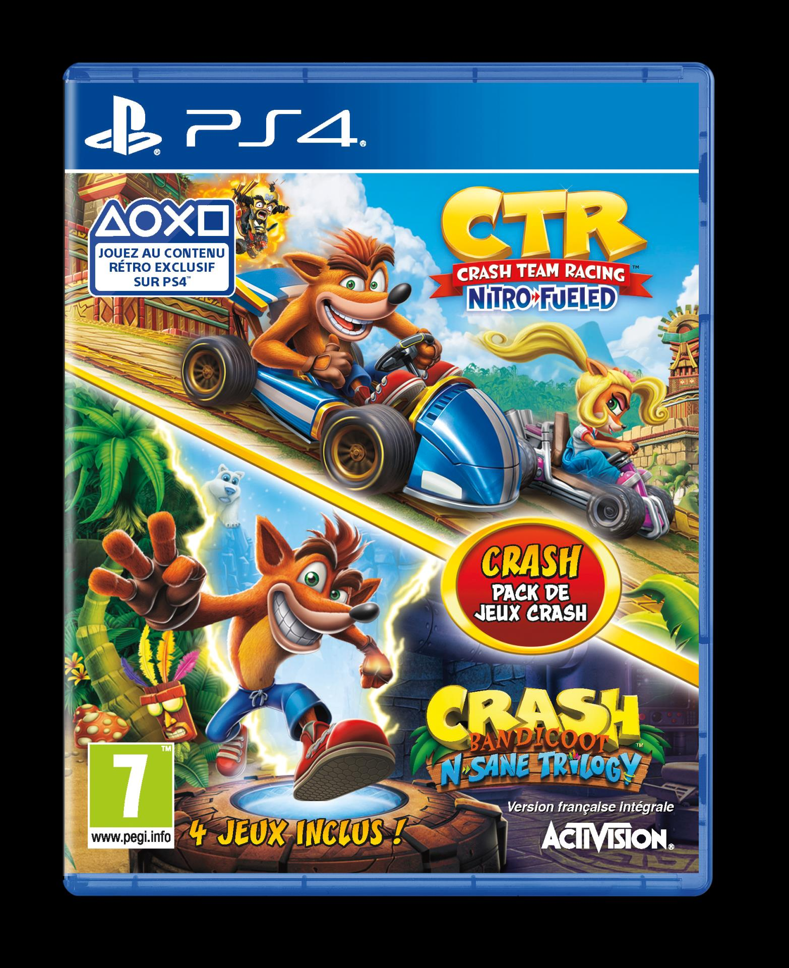 Cld Crash Team Racing Crash N Sane Trilogy Bundle