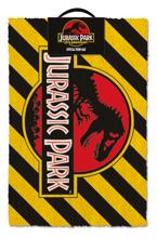 Jurassic Park - Warning Doormat