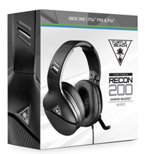 Turtle Beach Ear Force Recon 200 Wired Gaming Headset Black for Xbox Series, Xbox One, PS5, PS4, PC & Mobile