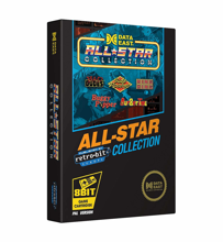 Retro-Bit Data East All Star Collection 8-Bit Cartridge for NES PAL Version