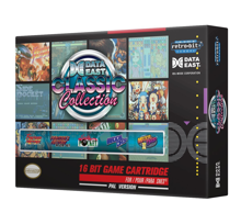 Retro-Bit Data East All Star Collection 16-Bit Cartridge for SNES PAL Version