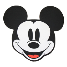 Disney - Mickey Mouse Face Shaped Towel