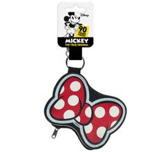 Disney - Minnie Mouse Hair Bow Coin Purse Keychain
