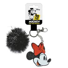 Disney - Minnie Mouse Glittered Head Premium Acrylic Keychain