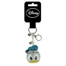 Disney - Donald Duck Rhinestones Head Premium Keychain