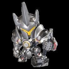 Blizzard - Cute but Deadly Overwatch Medium Figure Reinhardt