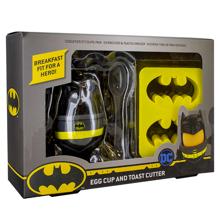 DC Comics - Batman Egg Cup and Toast Cutter V3