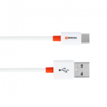 Skross Charge'n Sync Type C USB, USB 2.0 Standard, white, retail packaging 2m