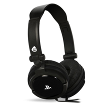 4Gamers - PRO 4-10 Wired Stereo Gaming Headset Black for PS5 & PS4