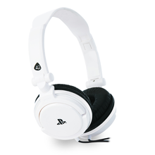 4Gamers - PRO 4-10 Wired Stereo Gaming Headset White for PS5 & PS4