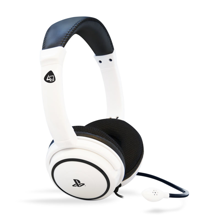 4Gamers - PRO 4-40 PS4 Licensed Wired Stereo Gaming Headset White