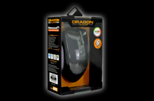 Dragonwar G20 7000DPI ergonomic and customizable RGB Gaming Mouse with 7 buttons - Black
