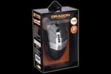 Dragonwar G22 7000DPI ergonomic and customizable RGB Gaming Mouse with 7 buttons - Black