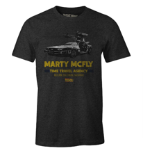 Back to the Future - Marty McFly Anthracite T-Shirt XL