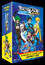 Beyblade Burst - Coffret 4 DVD Vol.1 à 4