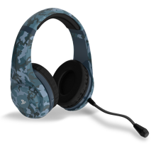4Gamers - PRO 4-70 Wired Stereo Gaming Headset Midnight Camo for PS5 & PS4