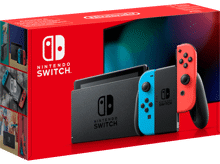 Nintendo Switch with Joy-Con Pair Neon Red and Blue