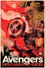 Avengers Golden Age Hero Propaganda - Maxi Poster