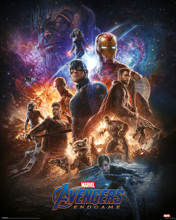 Avengers End Game From The Ashes - Mini Poster