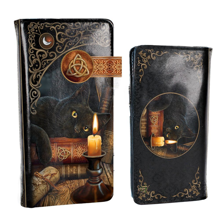 Witching Hour Embossed Purse by Lisa Parker 18.5cm