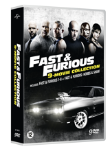 ast & Furious - 9 Movie Collection Box with Hobbs & Shaw