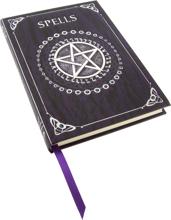 Embossed Purple Spell Book 17cm