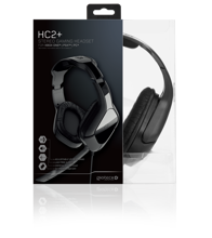 Gioteck - HC2+ Stereo Gaming Headset for PS5, PS4, Xbox Series, Xbox One & PC