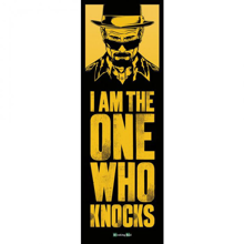 Breaking Bad I'm the one who knocks - Door Poster