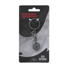 Dungeons & Dragons - Dice with 20 Faces Keyring