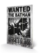 Batman Arkham Origins - Wanted Wood Print 20 X 29.5 cm