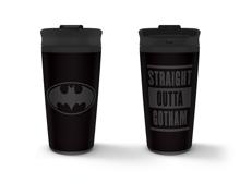 Batman - Straight Outta Gotham Metal Travel Mug 450ml