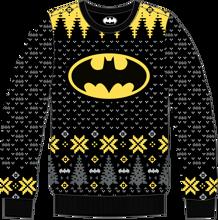 Batman - Batman's Logo Christmas Sweater L