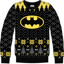 Batman - Batman's Logo Christmas Sweater XL