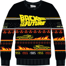 Back To The Future - Christmas Sweater S