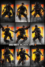Call of Duty: Black Ops 4 - Characters Maxi Poster