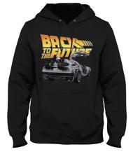 Back To The Future - Black Men's Sweater - L