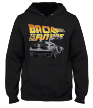 Back To The Future - Black Men's Sweater - XL