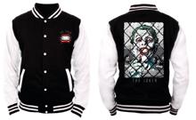 DC Comics - Batman - Black and White Men's Jacket - The Joker - M