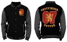 Harry Potter - Black and Grey Men's Jacket - Gryffondor Potter - M