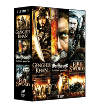 3 Films Epiques Vol.2: Genghis Khan + Wolfhound + Fire and Sword
