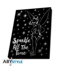 Disney - Premium A5 Notebook - Tinker Bell