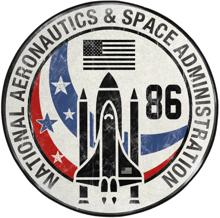 NASA - Interior Circular Floor Mat