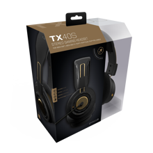 Gioteck - TX-40S Stereo Gaming Headset Black & Bronze for Xbox Series, Xbox One, PS5, PS4 & Mobile