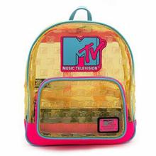 Funko Loungefly - MTV Clear Neon PVC Mini Backpack
