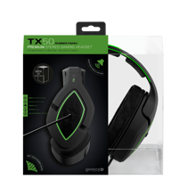 Gioteck - TX-50 Premium Stereo Gaming Headset Green & Black for Xbox Series, Xbox One & Mobile