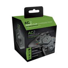 Gioteck - AC2 Ammo Clip Charging Dock with 2 600 mAh Batteries for Xbox Series