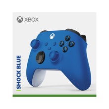 Xbox Wireless Controller Shock Blue for Xbox Series X|S, Xbox One, Windows 10 & Mobile