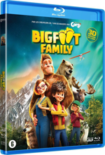 Bigfoot Family - Combo Blu-Ray 3D + Blu-Ray