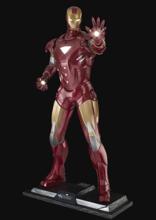 Avengers - Iron Man Life Size Figure (LED lighting & base included)