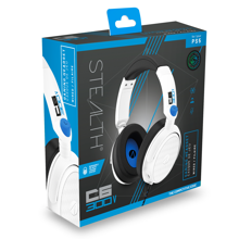 Stealth - C6-300V Wired Stereo Gaming Headset White & Blue for PS5